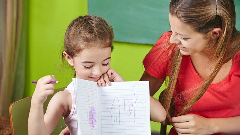 Una guía de ayuda para maestros
