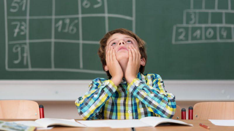 Los problemas más comunes de los niños en la escuela
