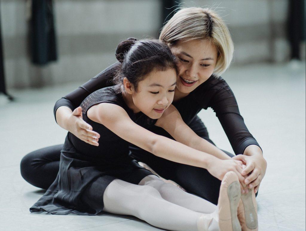 profesora de ballet