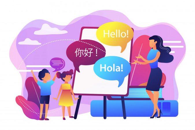 ¡No descuides los intereses y pasatiempos personales del niño! La regla principal para aprender idiomas extranjeros es hacerlos agradables.