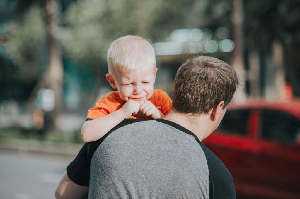 padre con niño