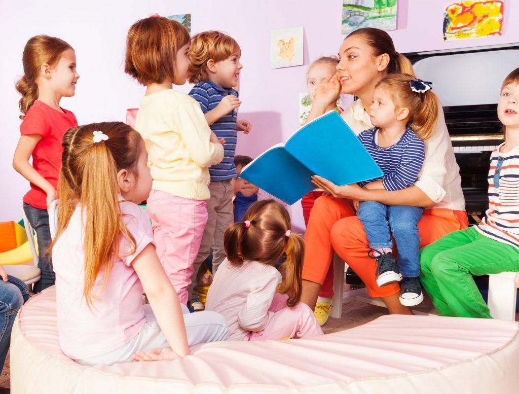 profesora de kinder